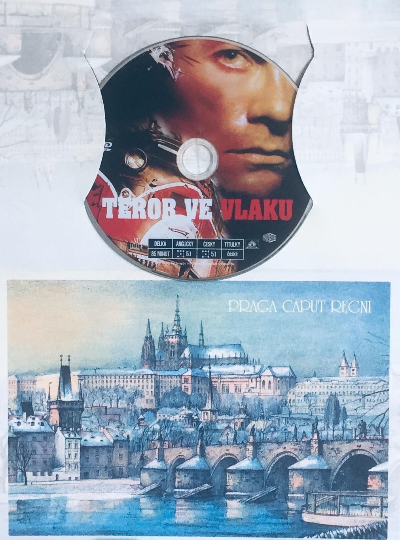 Teror ve vlaku - DVD /dárkový obal/