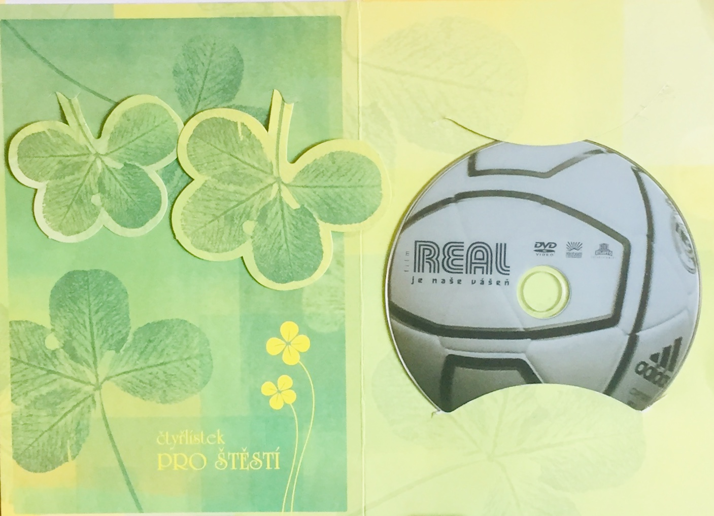 Real je naše vášeň - DVD /dárkový obal/