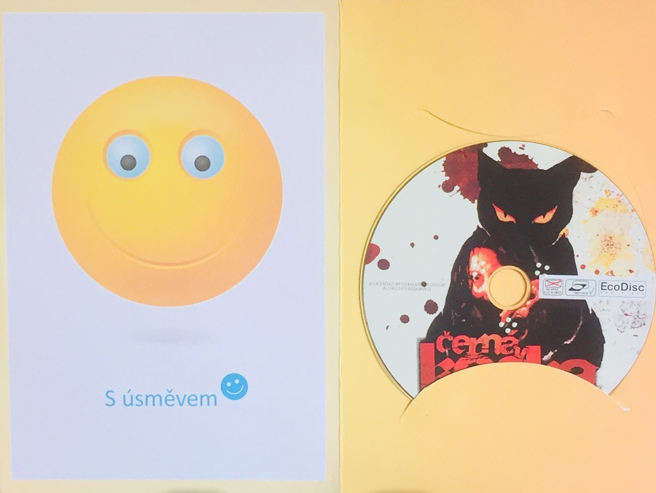 Černá kočka - DVD /dárkový obal/