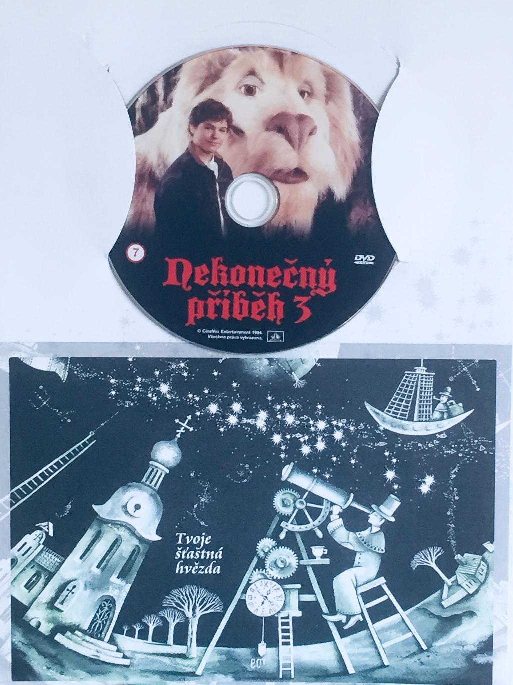 Nekonečný příběh 3 - DVD /dárkový obal/