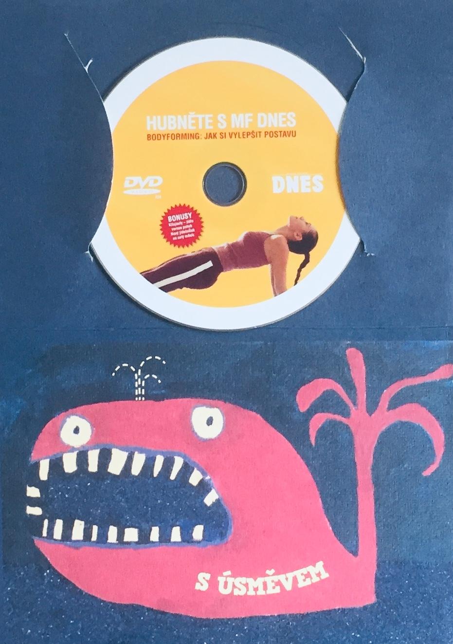 Hubněte s MF Dnes - Bodyforming - DVD /dárkový obal/