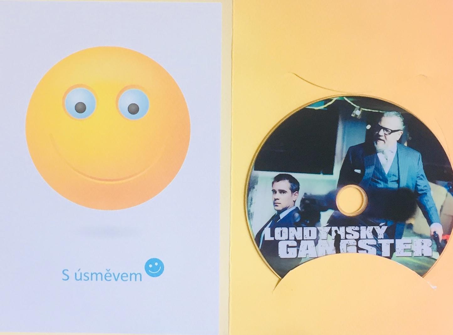 Londýnský gangster - DVD /dárkový obal/