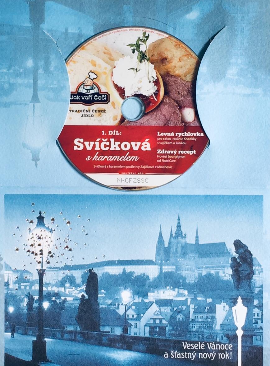 Svíčková s karamelem - 1. díl - DVD /dárkový obal/