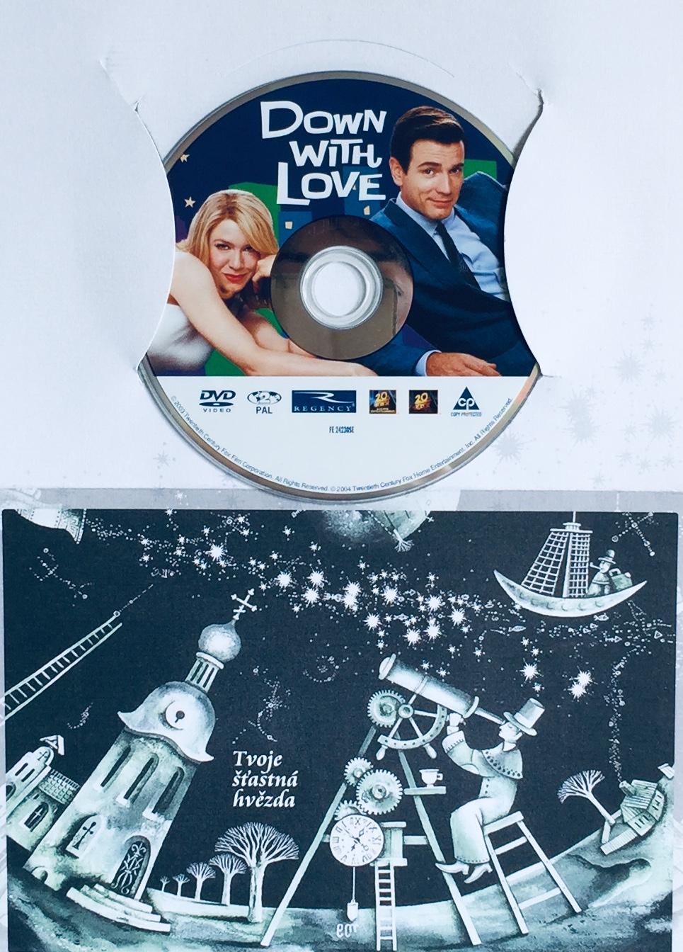 Down with Love / Kašlu na lásku - DVD /dárkový obal/