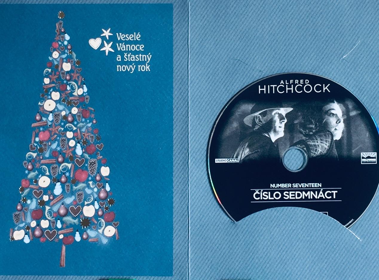 Alfred Hitchcock - Číslo sedmnáct - DVD /dárkový obal/