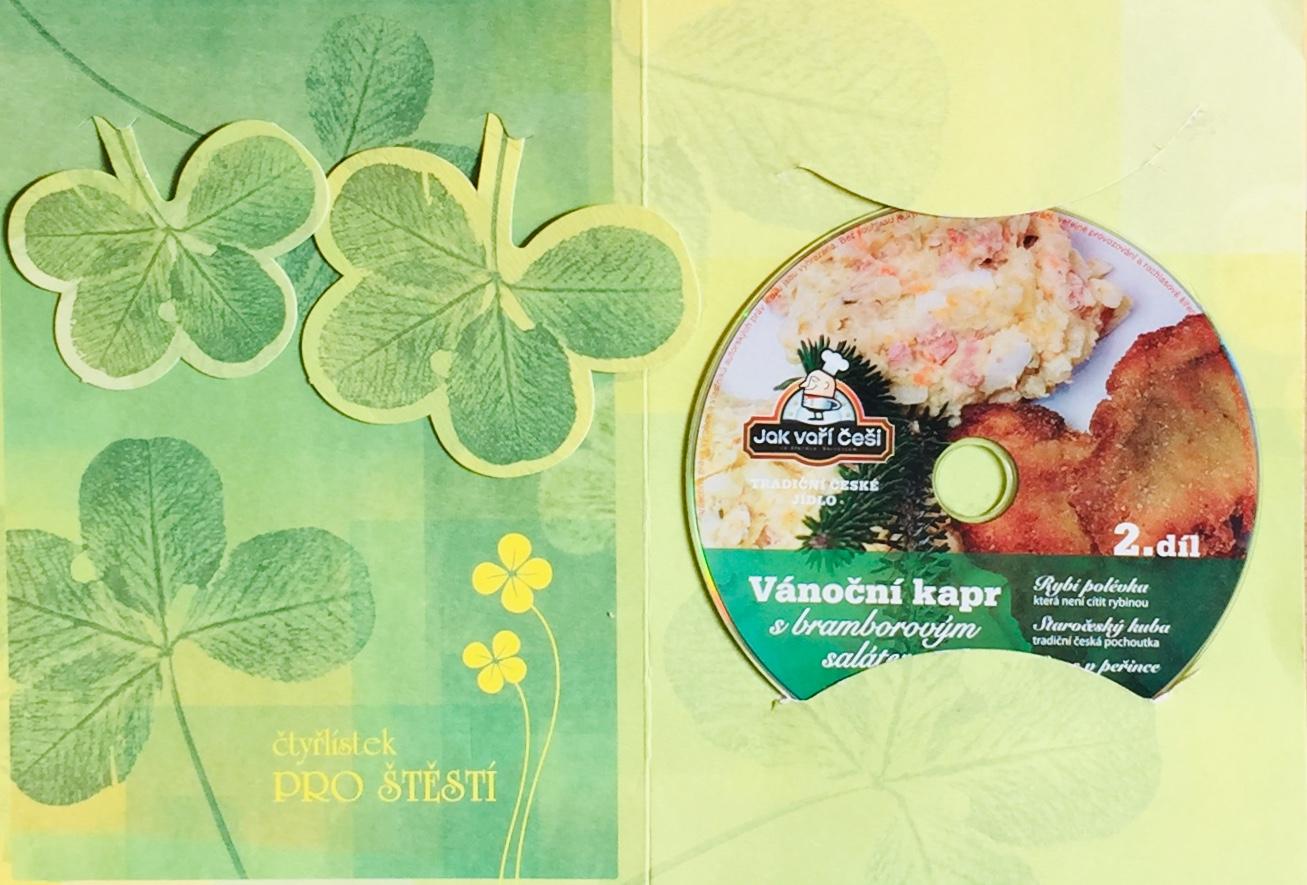 Vánoční kapr s bramborovým salátem - 2. díl - DVD /dárkový obal/