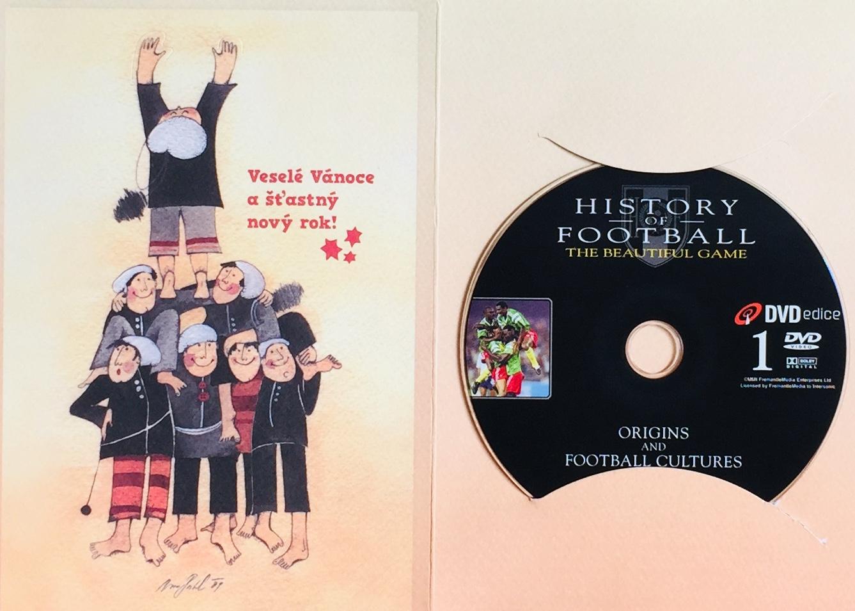 History of Football 1 / Historie fotbalu 1 - DVD /dárkový obal/