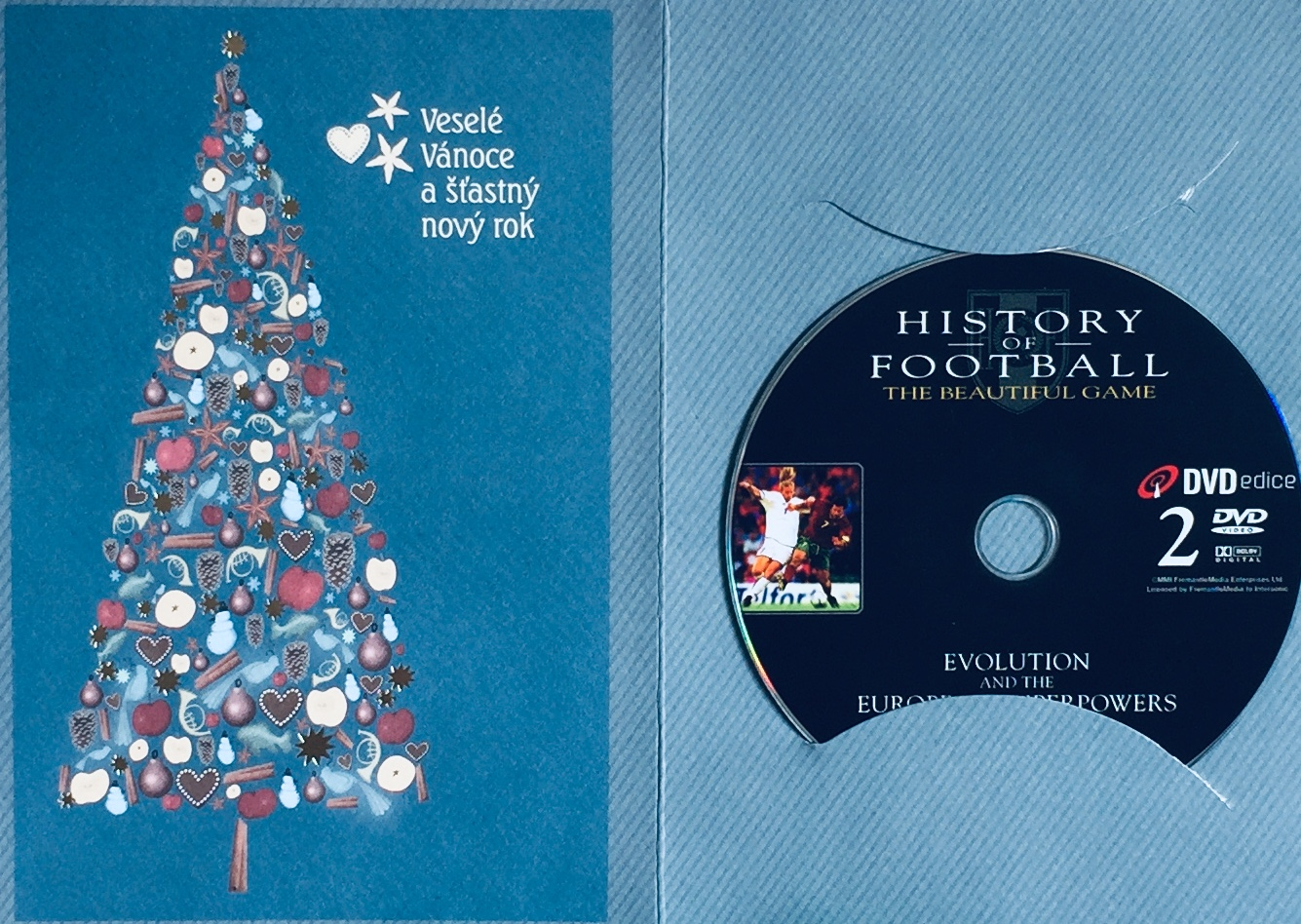 History of Football 2 / Historie fotbalu 2 - DVD /dárkový obal/