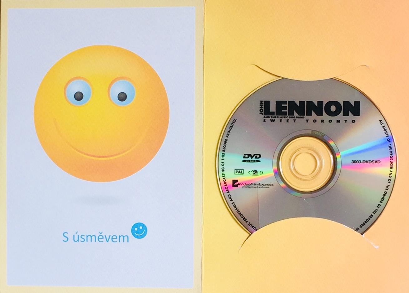 John Lennon and The Plastic Ono Band - Sweet Toronto - DVD /dárkový obal/