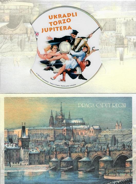 Ukradli torzo Jupitera ( Dárkový papírový obal ) - DVD