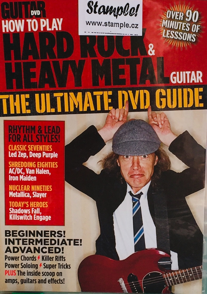 Guitar DVD - How to play Hard Rock Heavy Metal - The Ultimate DVD Guide - DVD /slim/