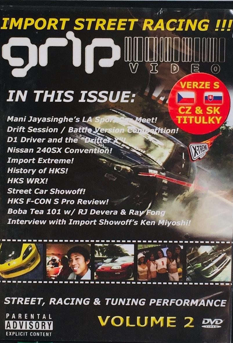 Grip video - Street, Racing & Tuning Performance - DVD /slim/