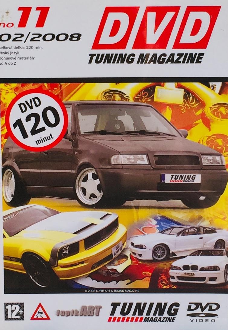 DVD Tuning Magazine no. 11 - 02/2008 - DVD /slim/