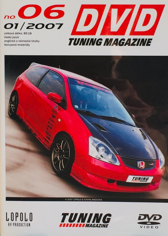 DVD Tuning Magazine no. 06 - 01/2007 - DVD /slim/