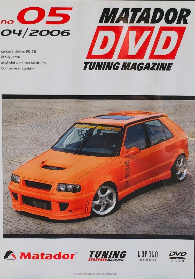 Matador DVD Tuning Magazine no. 05 - 04/2006 - DVD /slim/