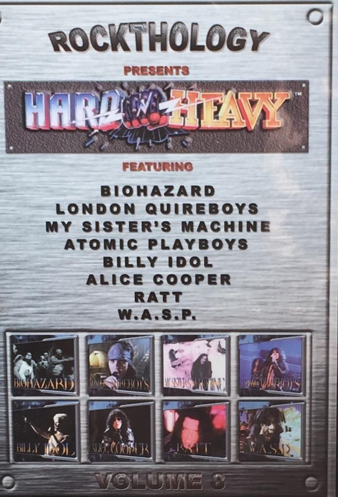 Rockthology - presents Hard & Heavy - Volume 8 - DVD /plast/