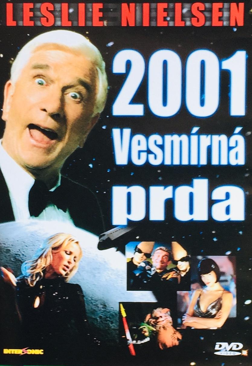 2001 Vesmírná prda - DVD /plast/