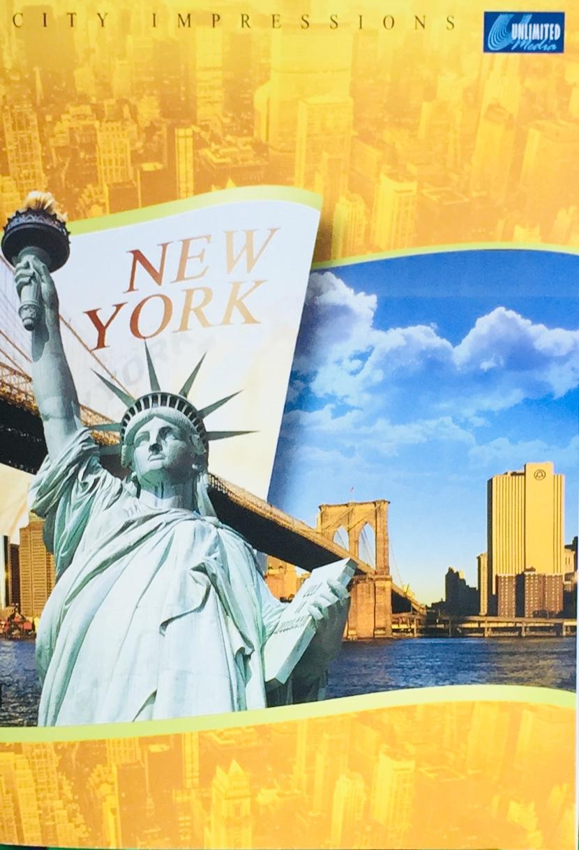 New York - City Impressions - DVD /plast/