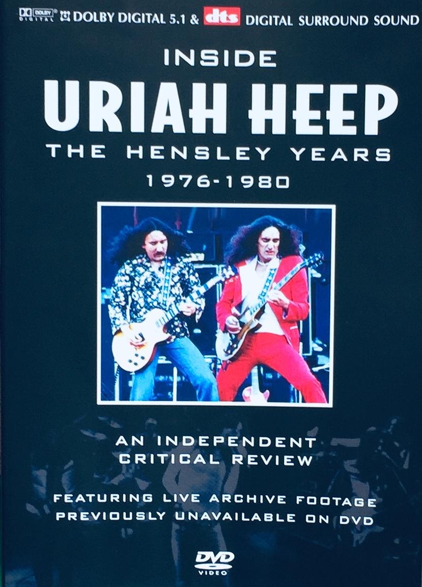 Uriah Heep - The Hensley Years 1976-1980 - DVD /plast/