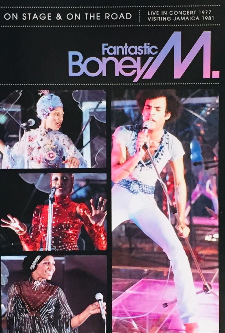 Fantastic Boney M. - On Stage & On the Road - DVD /plast/