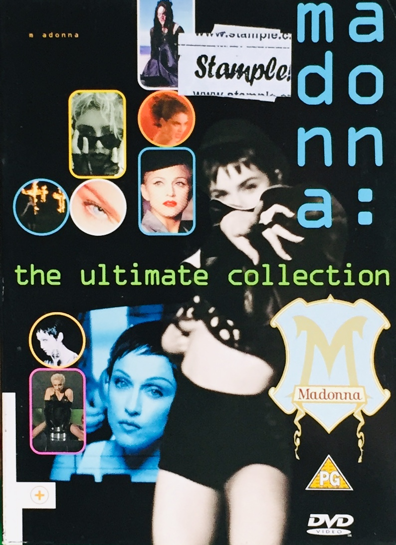 Madonna - The Ultimate Collection - 2xDVD /2xplast v šubru/