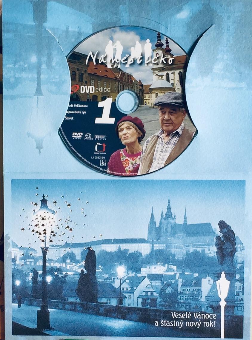 Náměstíčko 1 - DVD /dárkový obal/