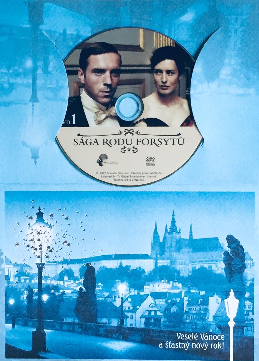 Sága rodu Forsytů 1 - DVD /dárkový obal/