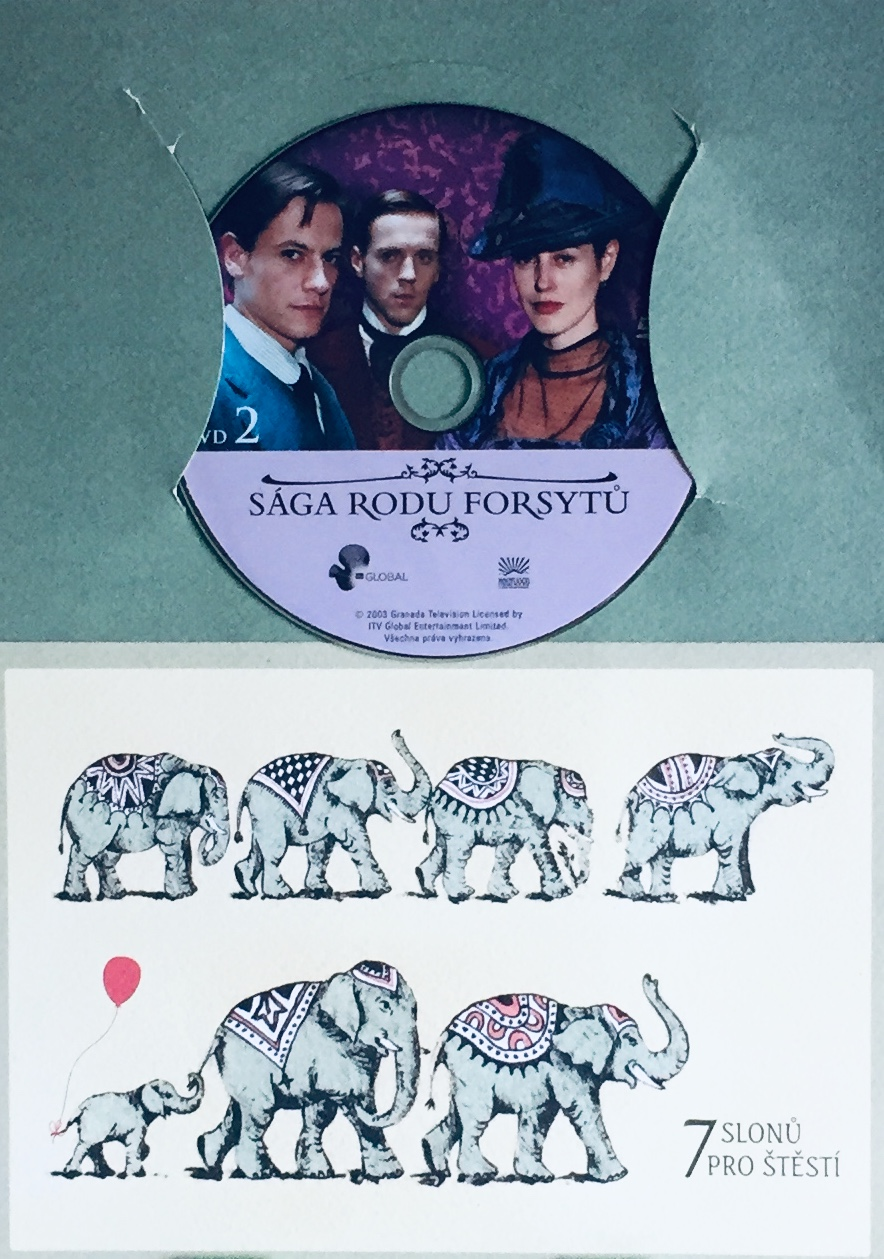 Sága rodu Forsytů 2 - DVD /dárkový obal/