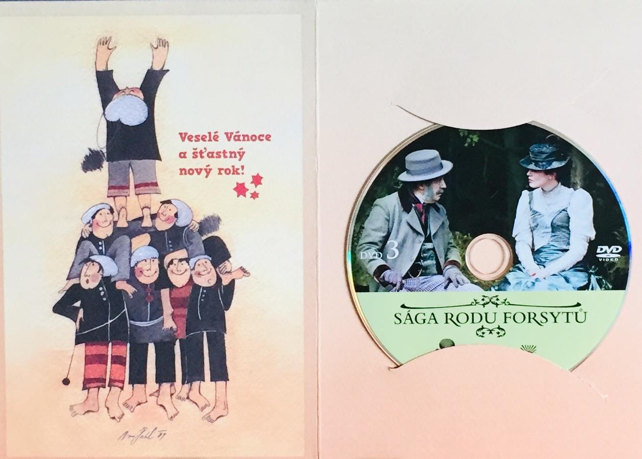 Sága rodu Forsytů 3 - DVD /dárkový obal/