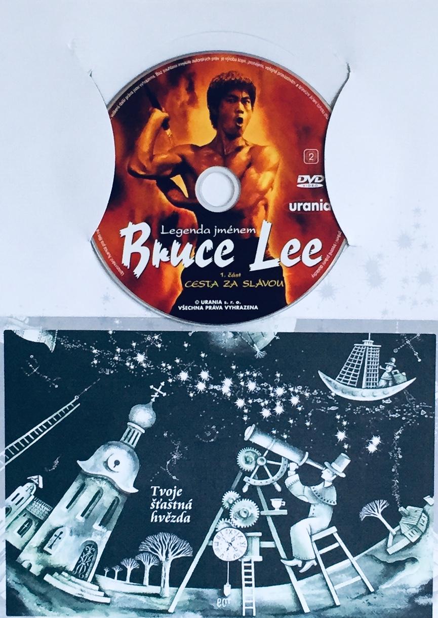 Bruce Lee - Cesta za slávou 1. část - DVD /dárkový obal/