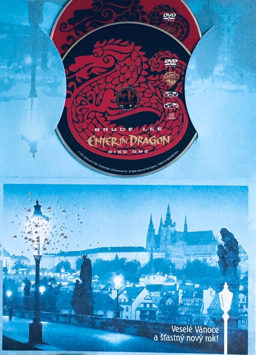 Enter the Dragon / Drak přichází - 2xDVD /dárkový obal/