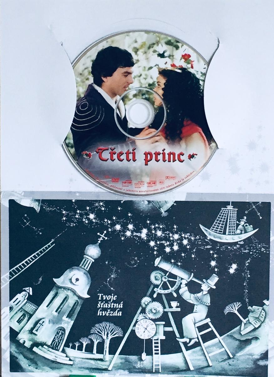 Třetí princ - DVD /dárkový obal/