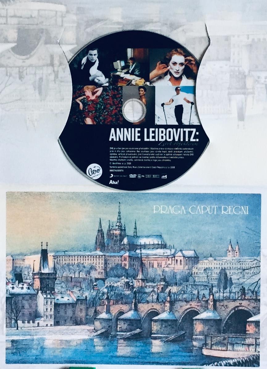 Annie Leibovitz - Život objektivem - DVD /dárkový obal/
