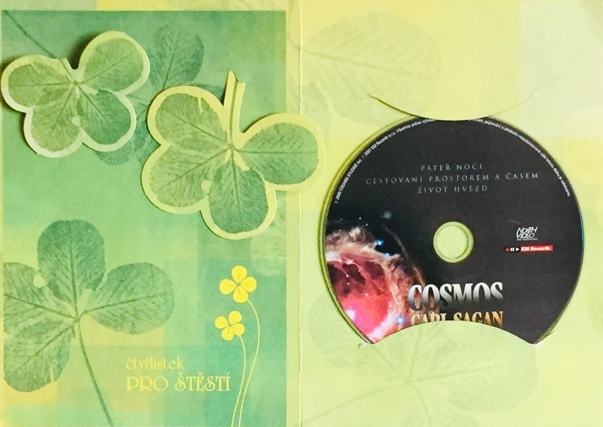 Cosmos Carl Sagan - Disk 3 - DVD /dárkový obal/