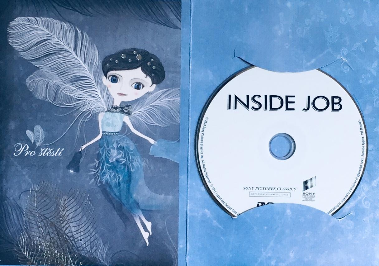 Inside Job / Finanční krize - DVD /dárkový obal/