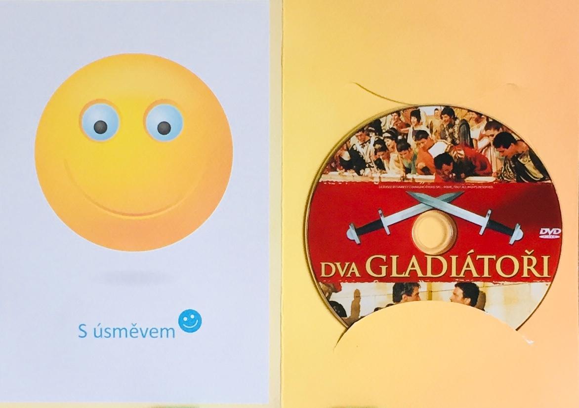 Dva gladiátoři - DVD /dárkový obal/