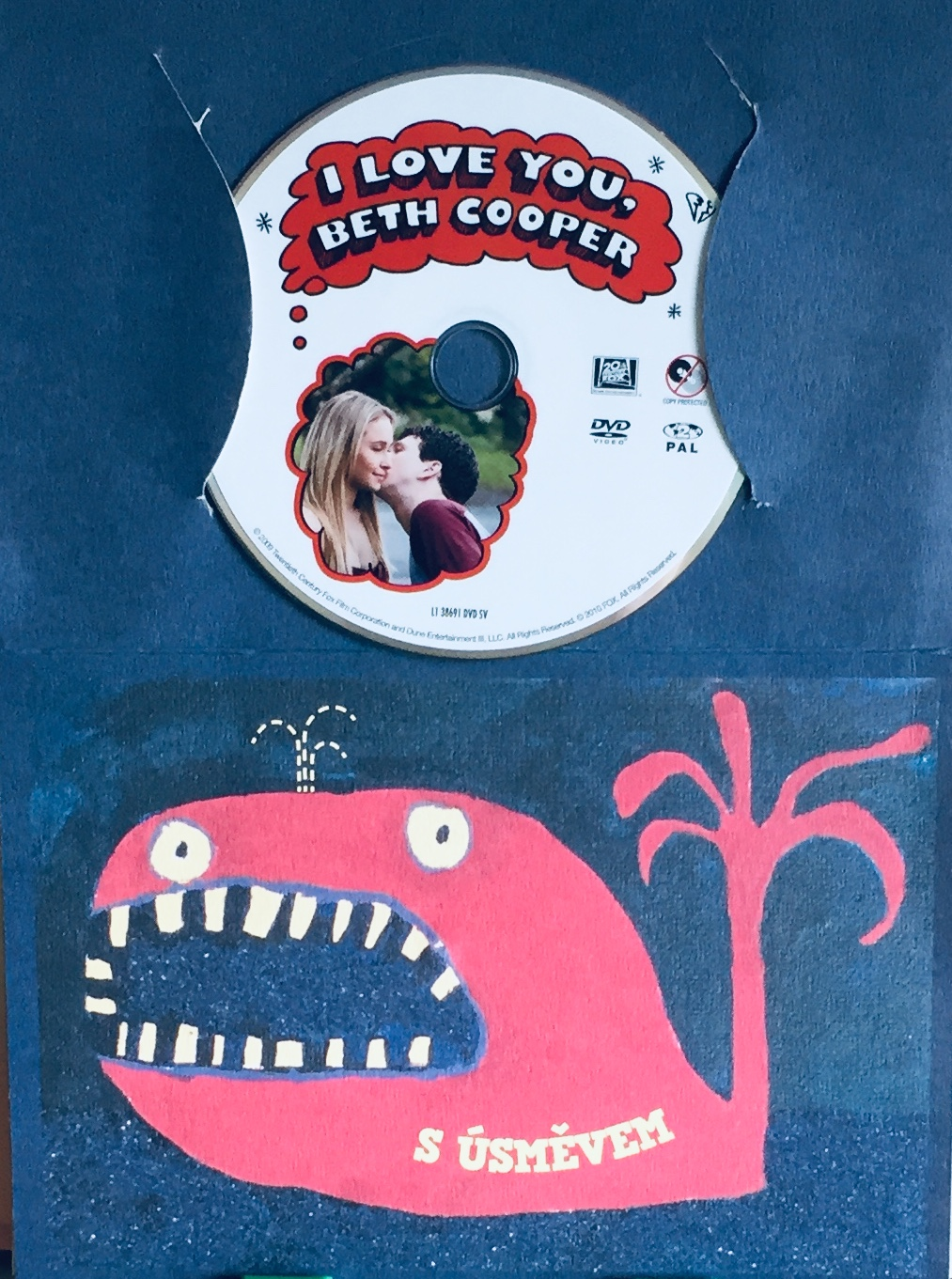 I Love You, Beth Cooper / Miluji tě, Beth Cooperová - DVD /dárkový obal/