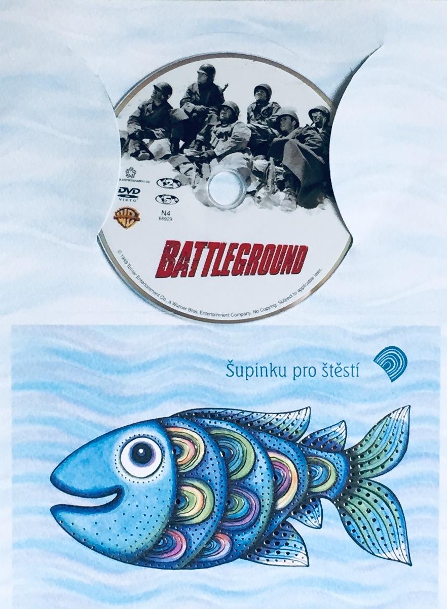 Battleground / Bitevní pole - DVD /dárkový obal/