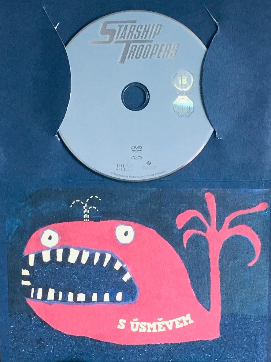 Starship Troppers / Hvězdná pěchota - DVD /dárkový obal/