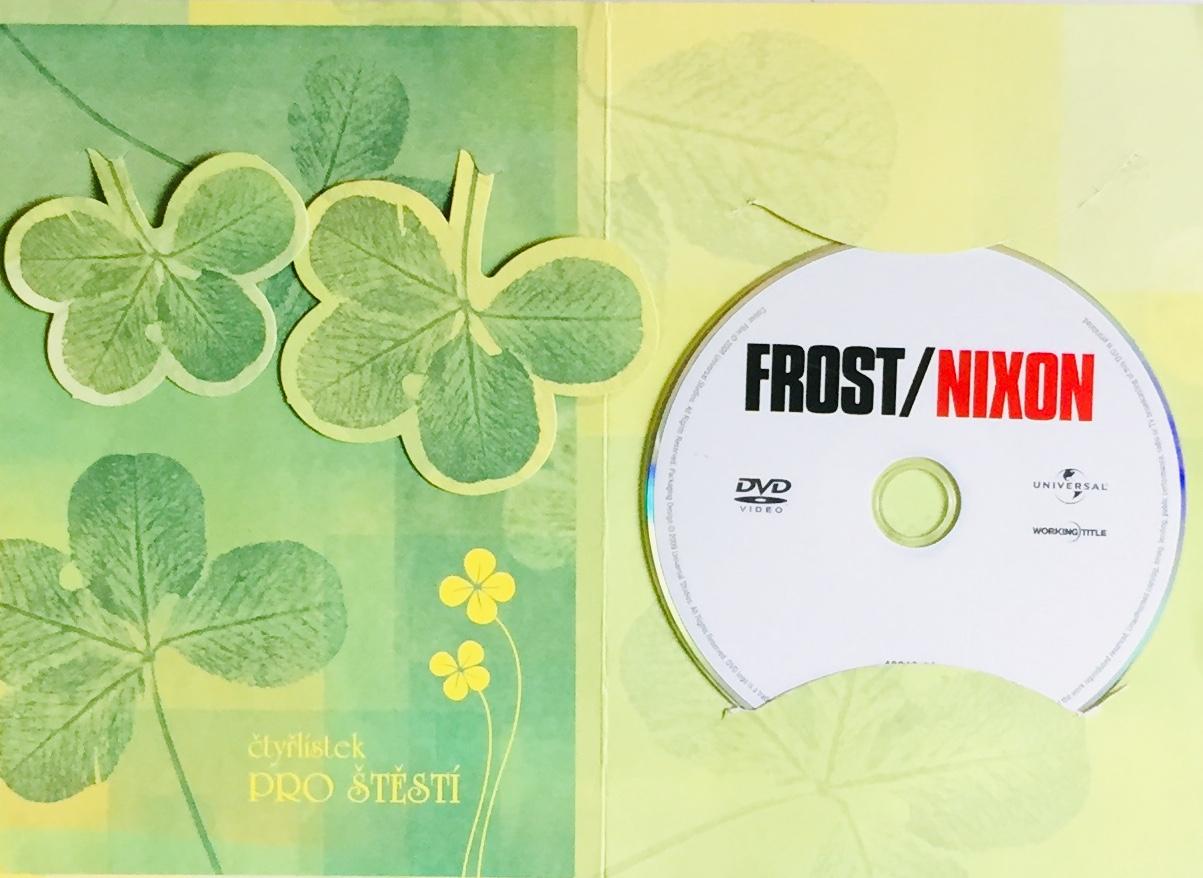 Duel Frost / Nixon - DVD /dárkový obal/