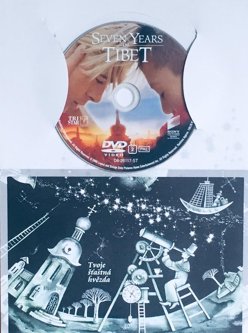 Sedm let v Tibetu - DVD /dárkový obal/