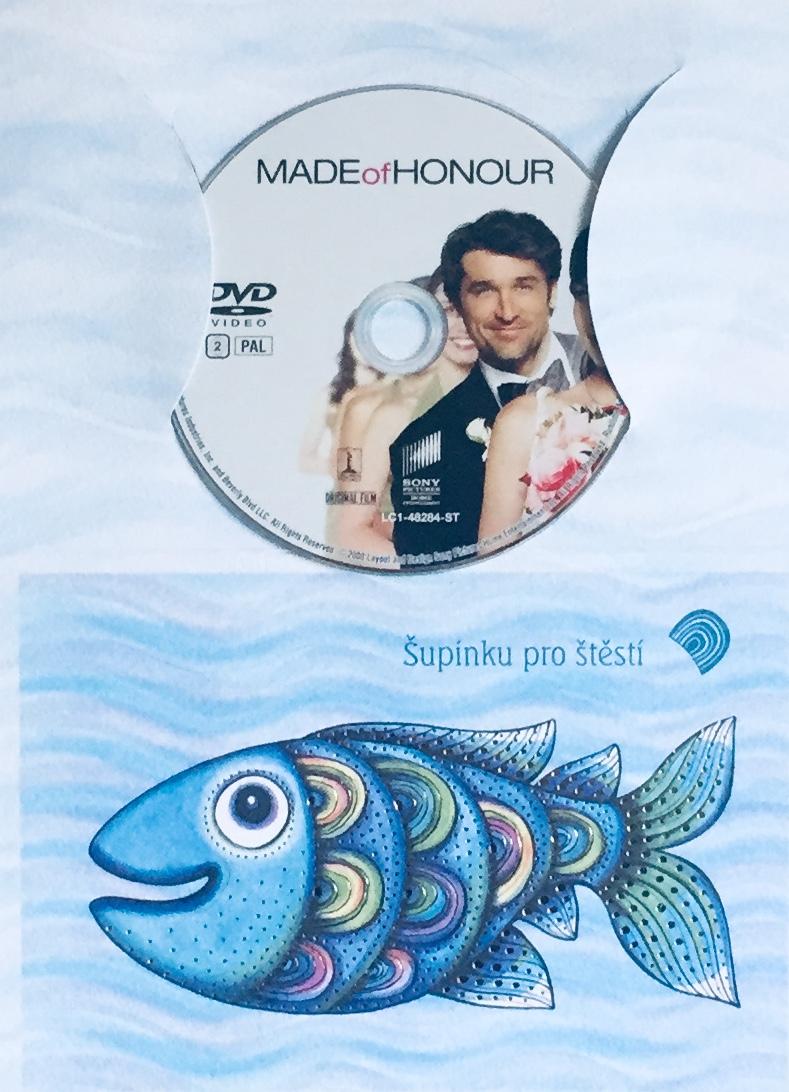 Made of Honor / Jak ukrást nevěstu - DVD /dárkový obal/