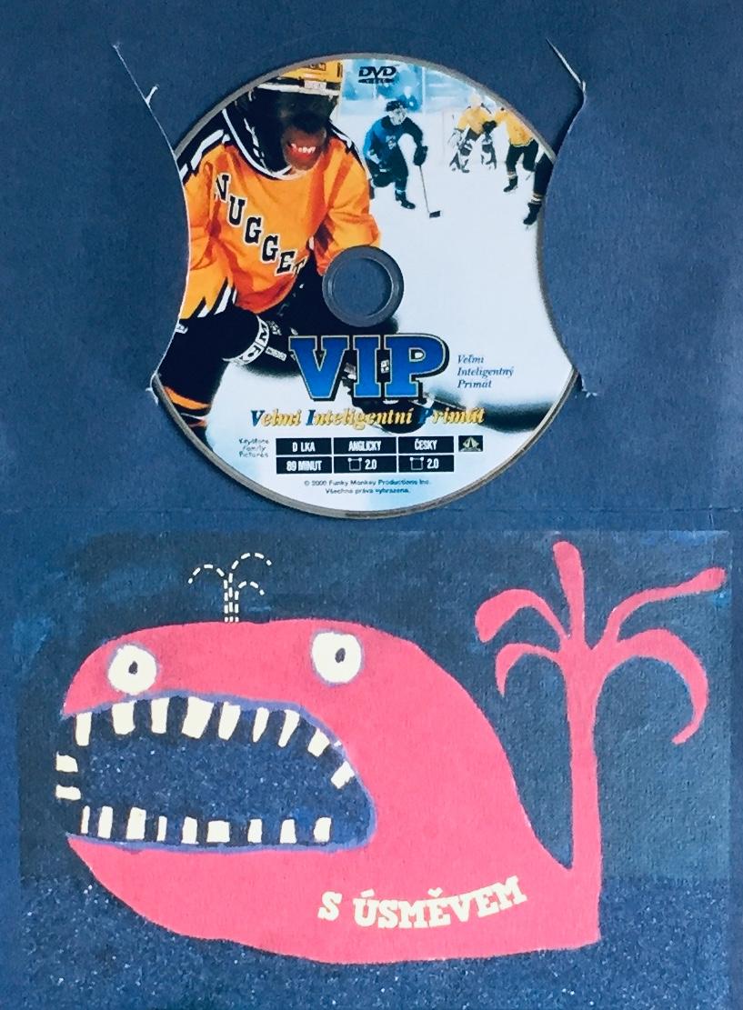 VIP - Velmi inteligentní primát - DVD /dárkový obal/