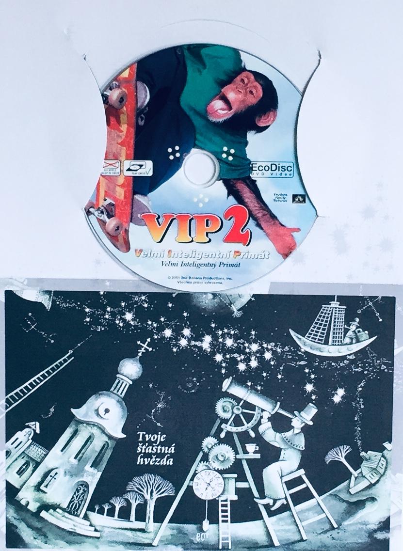 VIP 2 - Velmi inteligentní primát - DVD /dárkový obal/