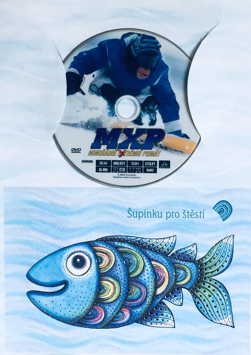 MXP - Mimořádně extrémní primát - DVD /dárkový obal/