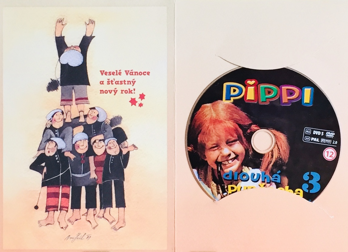 Pippi Dlouhá punčocha 3 - DVD /dárkový obal/