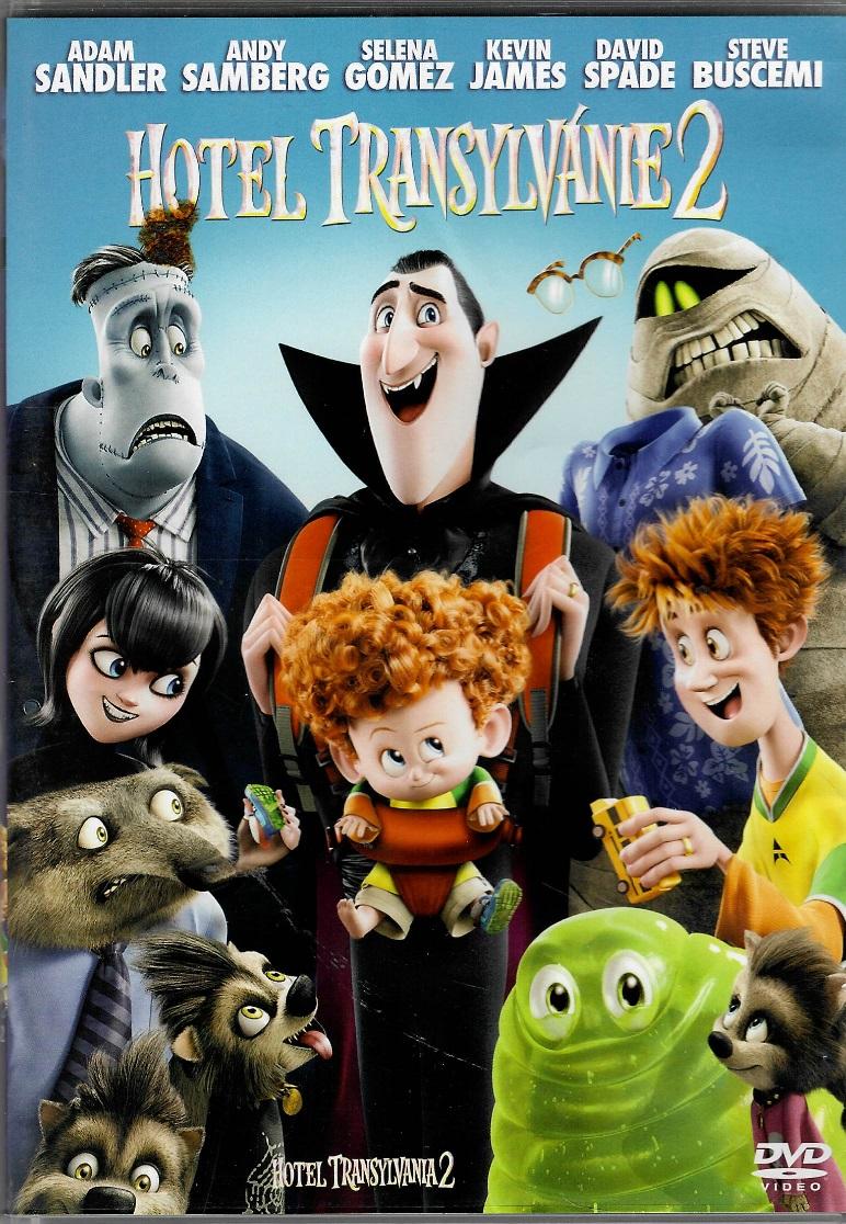 Hotel Transylvánie 2 - DVD plast