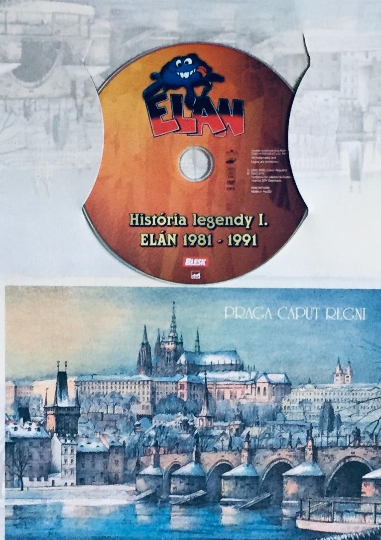 Elán - História legendy I. - Elán 1981-1991 - DVD /dárkový obal/