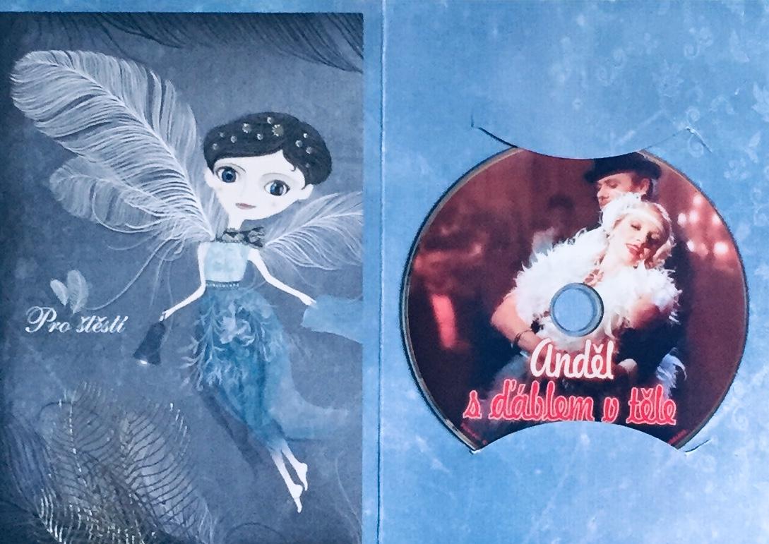 Anděl s ďáblem v těle - DVD /dárkový obal/