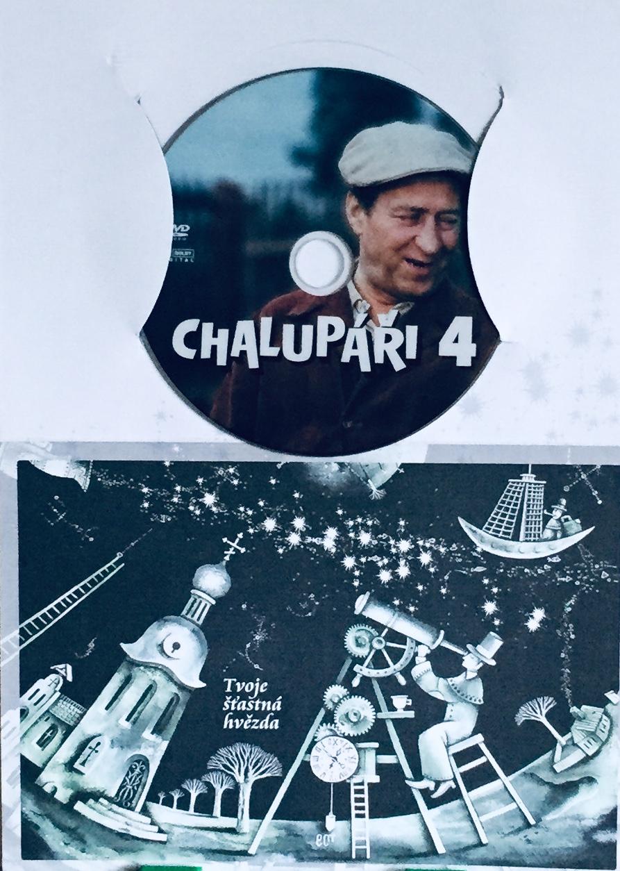 Chalupáři 4 - DVD /dárkový obal/